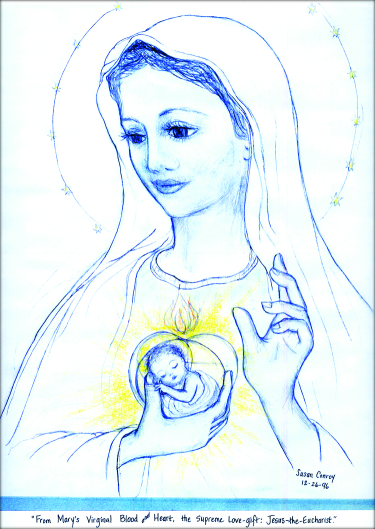 Our Lady of the Blessed Sacrament from Valtorta's Writings